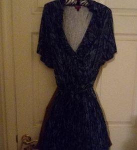 Muli - blue dress
